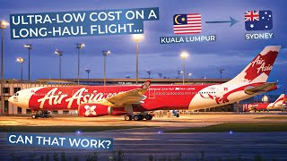 TRIPREPORT | Air Asia X (ECONOMY) | Airbus A330-300 | Kuala Lumpur - Sydney