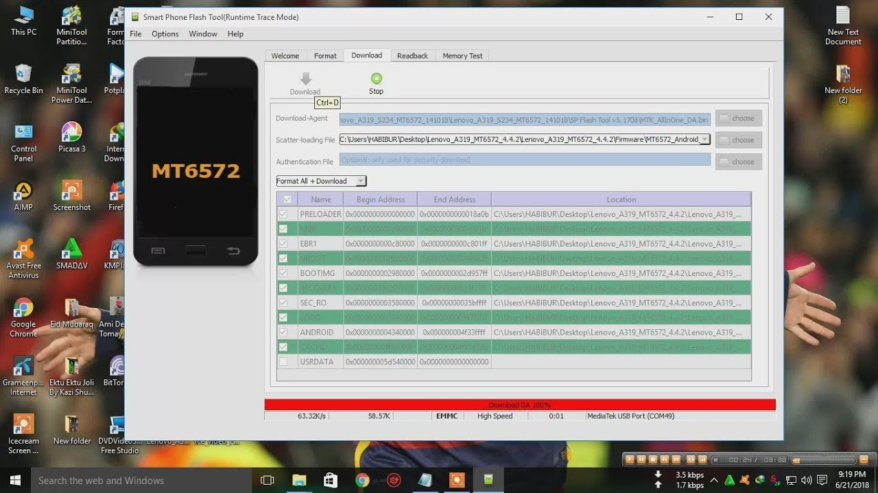 lenovo A319 How to flash Lenovo A 319 tested 100% + with flash file added  Ayna Telecom & Compuer