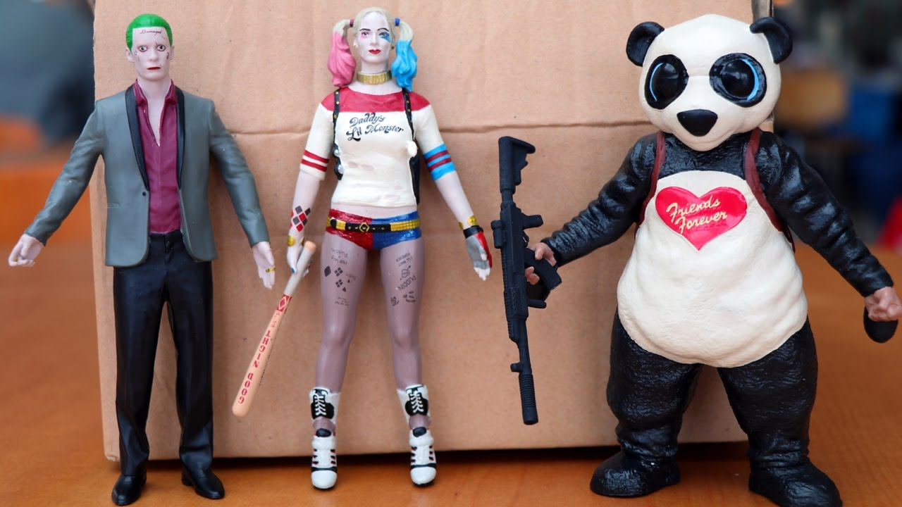 Suicide Squad Harley Quinn Bendable Action Figure