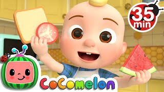 Shapes In My Lunch Box Song + More Nursery Rhymes \u0026 Kids Songs - CoComelon