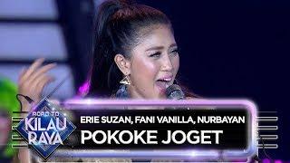 Erie Suzan, Fani Vanilla, Nurbayan [POKOKE JOGET] - Road To Kilau Raya (31/3)