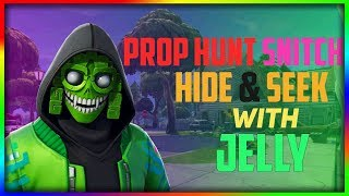 Fortnite Prop Hunt - Snitch Hide and Seek with JELLY!