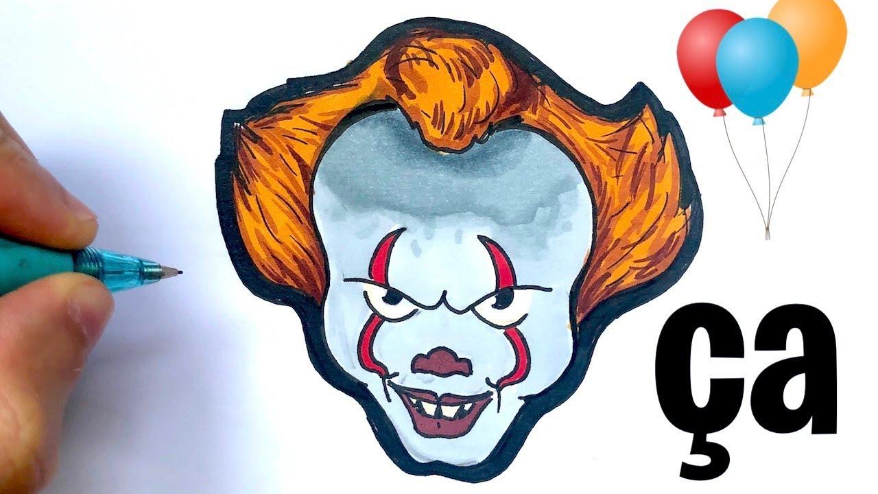 Tuto Dessin Facile Ca Le Clown Youtube