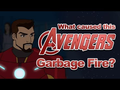 How Did This Avengers Cartoon Become Hot Garbage?