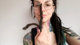 What's inside? Cutting off my 2.5 year old dreadlocks
