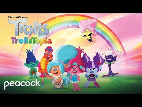 DreamWorks Trolls: TrollsTopia   Official Trailer   Peacock