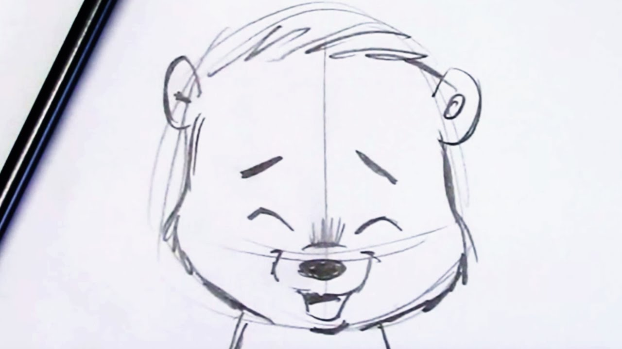 How To Draw A Bear Cub Fun And Easy For Beginners