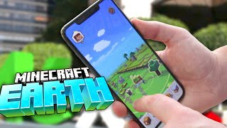 How To Play Minecraft Earth Beta (gameplay Overview)