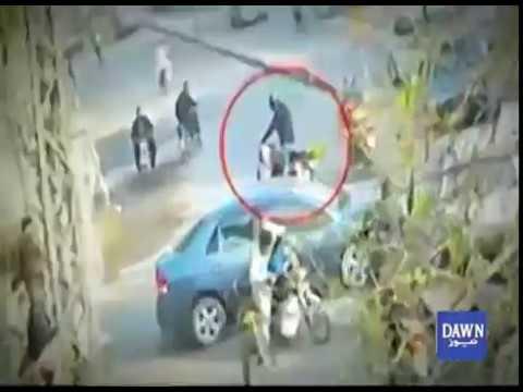 Professor Murder in lahore (CCTV footage)