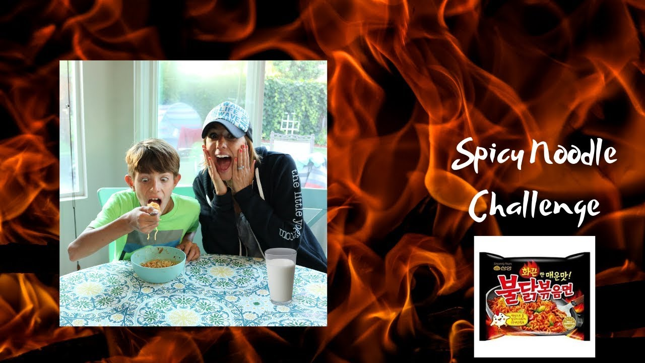 Taggart Kids/Spicy Noodle Challenge