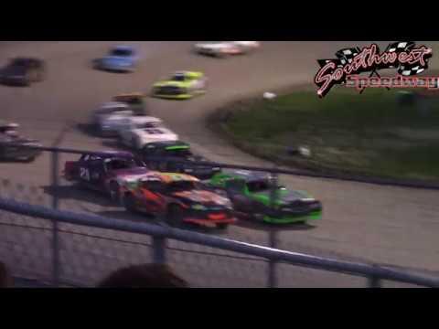 Southwest Speedway Wissota Street Stock B-Mains (6/30/18)
