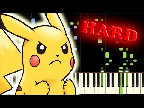 POKÉMON THEME SONG PIANO - INCREDIBLE FULL VERSION!