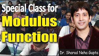 Modulus Function- Concept of Modulus Function with Logic