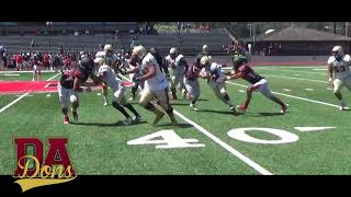 De Anza-Foothill Scrimmage 2017 JUCO Football.