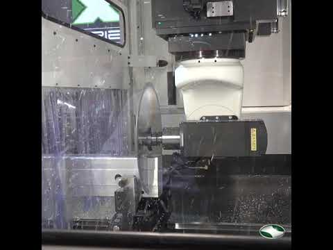 EXTRUSION SAWING - With a 500mm Saw Blade! | C.R. Onsrud EX-Series 5-Axis Profile Machining Center