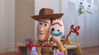 Toy Story 4 - Woody vs Forky Memorable Moments