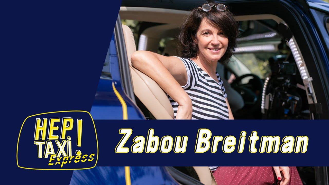 """Zabou Breitman : """"J'adore vivre !"""" ﹂Hep Taxi ﹁"""