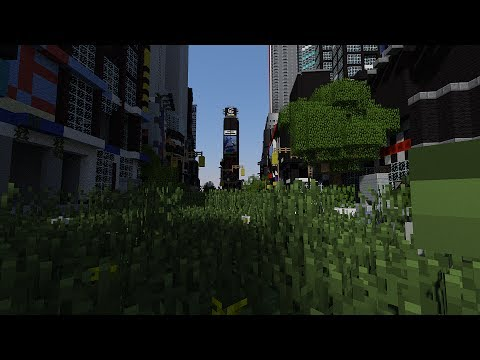 Minecraft Times Square 2051 (Manhattan) By DAGET