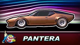 The SNARLING Supercar!   1971 De Tomaso Pantera