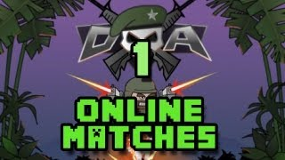 Doodle Army 2 Mini Militia Online Matches Ep 1 - He has no gun!