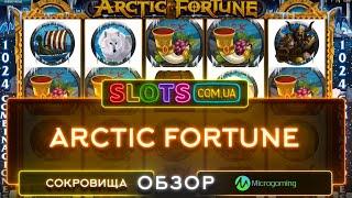 Игровой автомат Arctic Fortune от Microgaming
