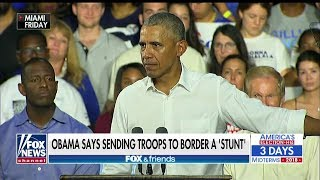 Bongino Rips Obama for Saying Sending Troops to Border Is a