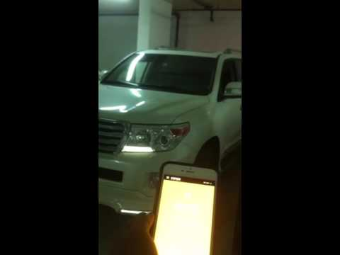 Remote start from your phone , Landcruiser, Dubai,UAE(contact: +971 55 3089835)