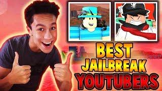 BEST Jailbreak Youtubers VeD_DeV and Straw... (Roblox Jailbreak)