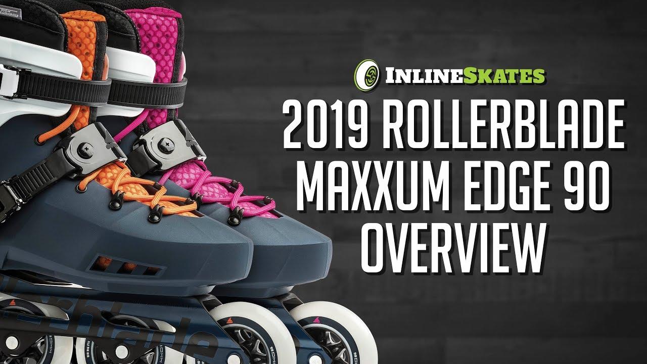 380f2cd4344 2019 Rollerblade Maxxum Edge 90 Men's and Women's Inline Skate Overview by  InlineSkatesDotCom