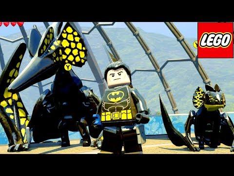 BATMAN E SEUS DINOSSAUROS no LEGO Jurassic World EXTRAS MUNDO ABERTO #29