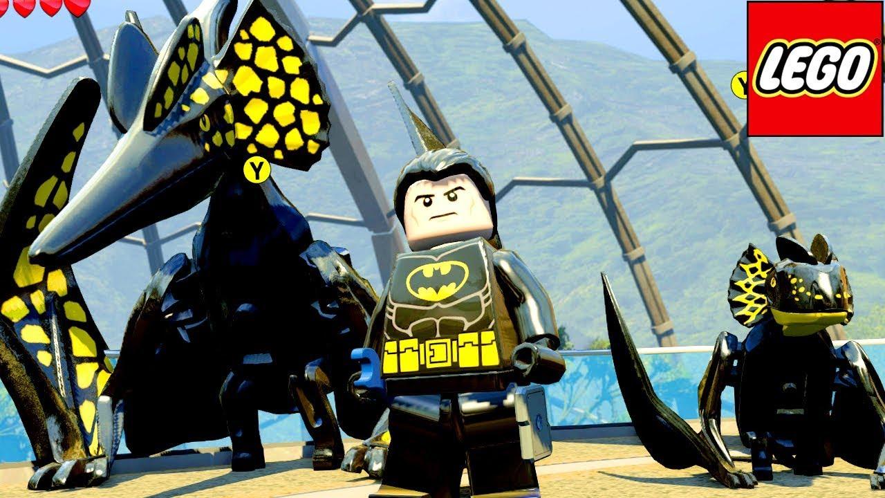 Batman E Seus Dinossauros No Lego Jurassic World Extras Mundo