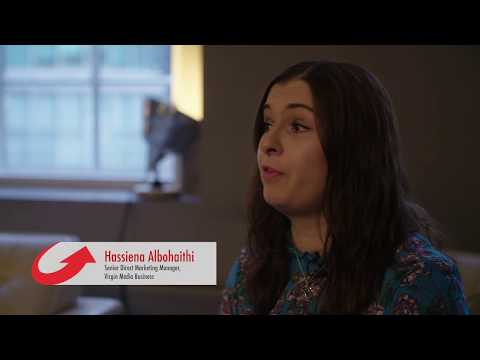 The Power of Digital event, hosted by Virgin Media Business in Nottingham