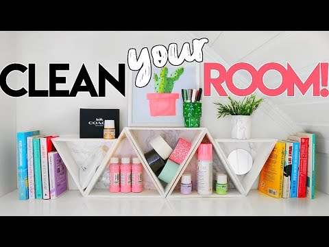 CLEAN YOUR ROOM 2019! DIY Organization, Hacks & Timelapses of my Spring Cleaning!