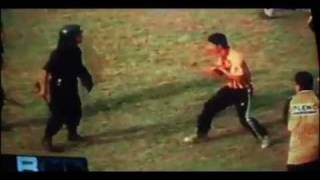 ALMIRANTE BROWN / pelea con la policia / incidentes / violencia en el futbol
