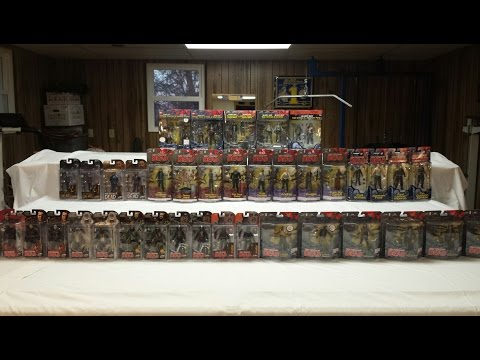 The Walking Dead Comic Series Action Figure Complete Collection 2011-2015