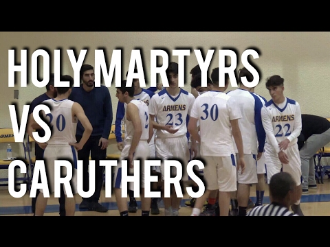CIF State Playoffs Holy Martyrs VS Caruthers 3-8-17