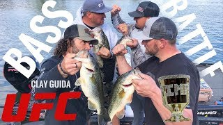 UFC fighter Clay Guida in a Bass Fishing battle!