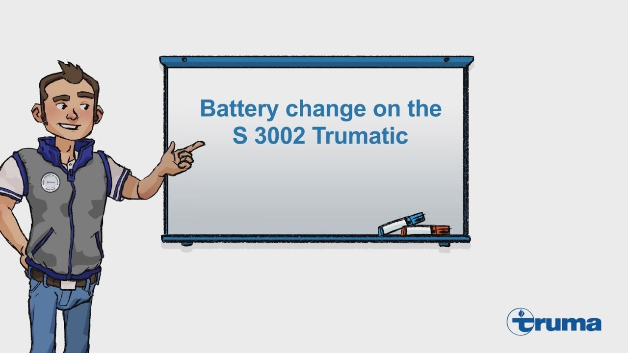 battery change on the s 3002 trumatic youtube. Black Bedroom Furniture Sets. Home Design Ideas