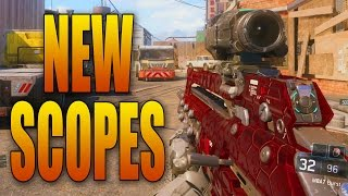 New Weapon Scopes & Sights Attachments in Black Ops 3 Multiplayer!