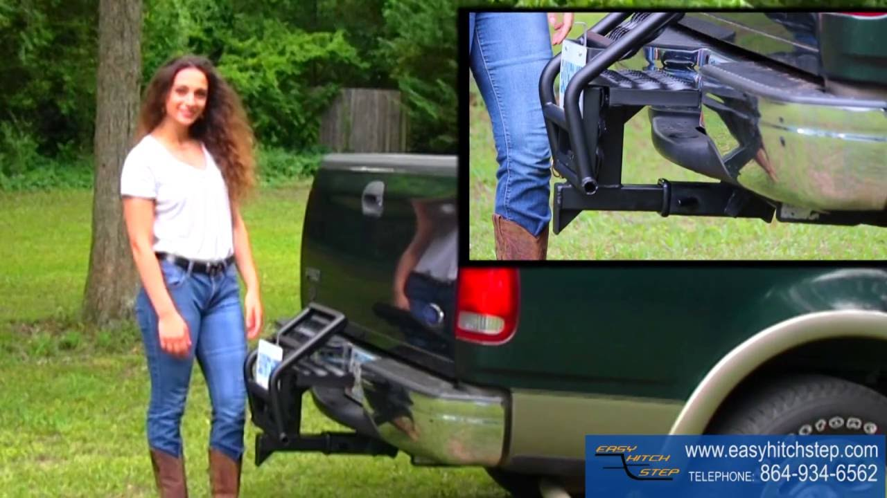 Truck Trailer Hitch >> Easy Hitch Step - Access Your truck bed easily - Best Hitch Step for Truck Beds and Trailers ...