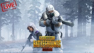 🔴LIVE STREAM - Mobile PUBG #Snow Map Aane wala Hai Boizz xD