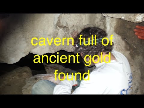 Cavern of ancient gold bars found, but then we got caught