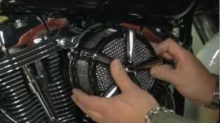 Kuryakyn Hi-Five Mach 2 Air Cleaner 9553