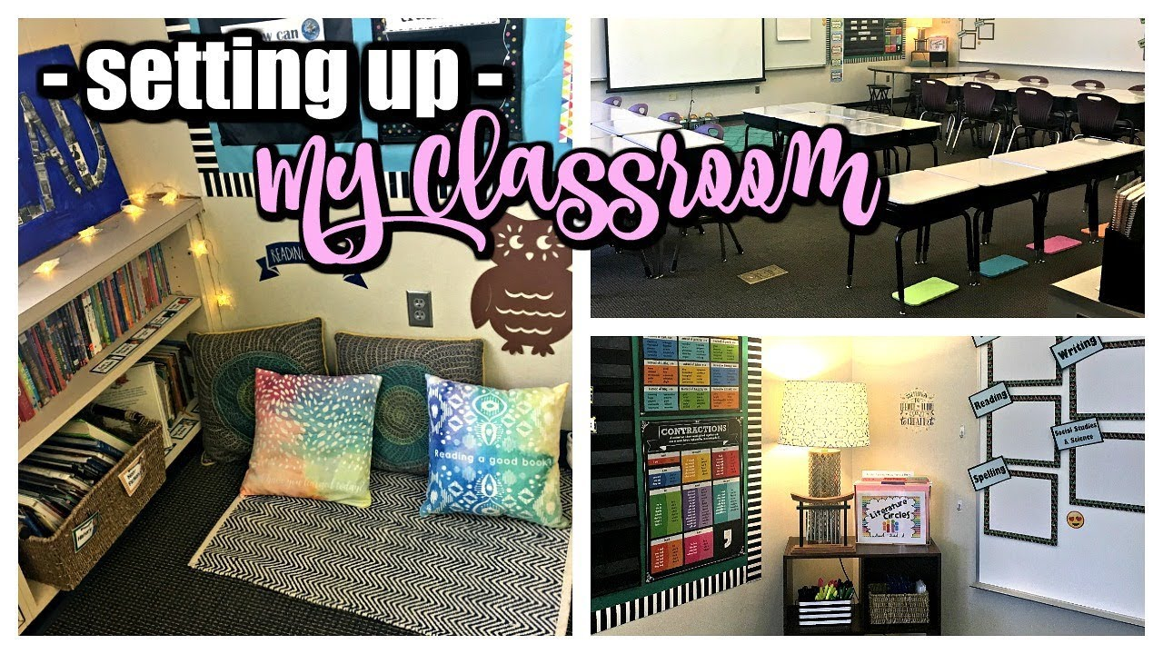 World History Classroom Decorations : My classroom tour th grade youtube