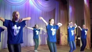 Танец-флэшмоб глыбоцкай моладзі