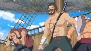 One Piece 745 ENG SUB    Fujitora Saves Straw Hat Pirates Grandfleet