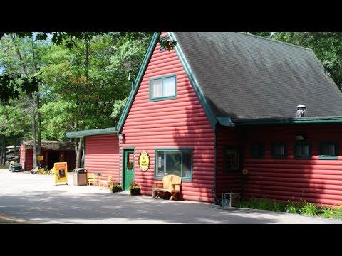 Staying at the KOA in Oscoda, Michigan