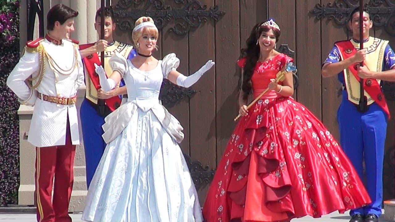 where to meet princess in disney world