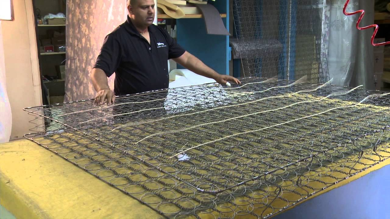 Technology Management Image: Building A Spring Mattress By Labbe Bedding