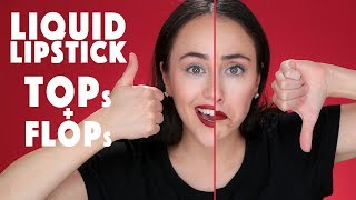 Der ULTIMATIVE Liquid Lipstick Guide High End und Drogerie | Hatice Schmidt